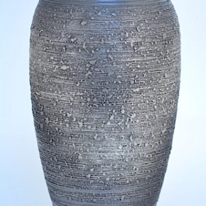 DSC_0340.jpg      信樂燒花瓶-鐵灰
