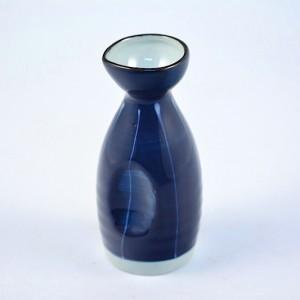 DSC_1411.jpg 藍底白線條清酒壺-WB0401-03