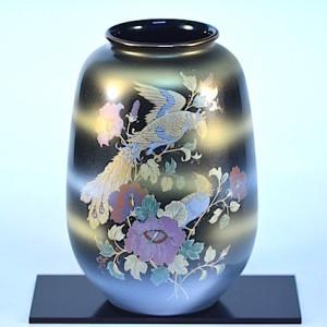 DSC_2568.jpg 九谷燒8號花瓶-天目鳳凰 N22-01