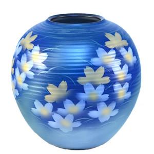 DSC_2650.jpg 九谷燒9號花瓶-刷毛目花紋 N22-1032