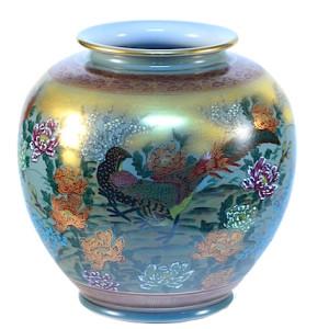 DSC_2652.jpg 九谷燒9號花瓶 82-1001
