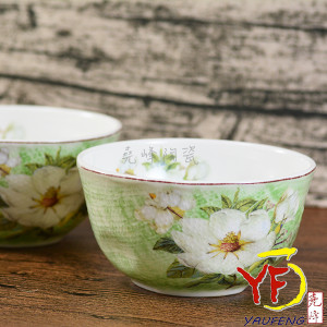 4吋布紋白山茶top